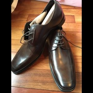 Kenneth Cole New York Men's Brown Shoes Lace up